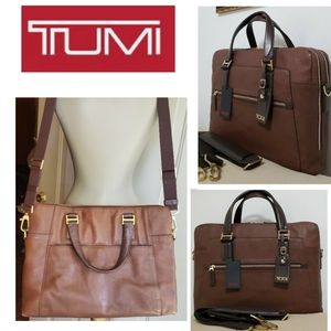 TUMI Beacon Hill Vernon 068530 Laptop Bag Euc Deal